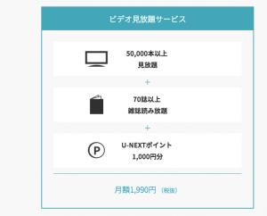 料金・各種オプション│U-NEXT-min